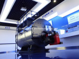 연료 가스 또는 디젤 엔진 중유 35bhp 증기 보일러