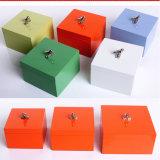 Glanz-Lack-hölzerner Geschenk-Kasten mit Vogel-Griff