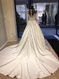 Satin-Brautkleidung-Kleid-Hochzeits-Kleid-Kleid