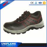Men Leather Steel Toe Cap Sapatos de segurança S1p Ufa002