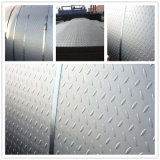 La norme ASTM A36 de 8 mm à damiers au carbone laminés à chaud de la plaque en acier