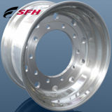O alumínio profissional do fabricante de China forjou a borda da roda da liga do caminhão