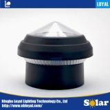 """忠節で最もよい価格ISO9001の白2の""""インチ Bpostの緑の太陽センサーLEDの屋外の太陽ポストの鎖の塀の帽子ライト"""
