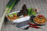 Одноразовый контейнер из алюминиевой фольги алюминиевой фольгой и обед в салоне воздуха емкость