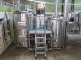 La Calefacción de gas fábrica de cerveza Cerveza Sistema automático de la línea de producción de la maceración