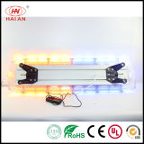 PC Voll-Größe Auto Car Warning Light Bar LED Security Vehicle Flash Lightbar 120cm Ambulance Fire Engine Polizeiwagen Lightbar
