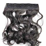 100% peças de cabelo sintético Black Color Hair