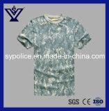 [منس] عربيّة [كمو] عسكريّة سريعة جافّ [كرو نك] [ت-] قميص ([سسغ-255])