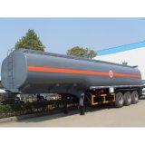 Dos o tres ejes del remolque tanque de almacenamiento de productos químicos