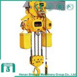 Elevage à chaîne électrique à grande efficacité de travail