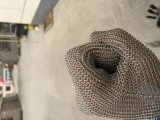 高品質の反切口の金網のステンレス鋼の働く安全手袋