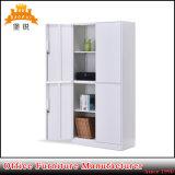 4つのドアのオフィス用家具の鋼鉄食器棚の金属のファイリングキャビネット