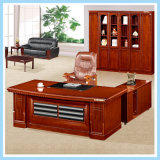Tabela moderna do escritório da mobília da mesa executiva de madeira luxuosa grande do tamanho
