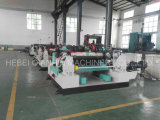 メキシコで働く4FTの木製のログのためのSpindlelessのベニヤの皮の旋盤機械