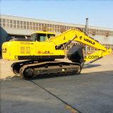 21ton excavadora con el cubilete, motor de gran alcance