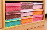 Caixa de armazenamento Foldable da lona do agregado familiar