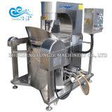 Precio de descuento comercial de gran capacidad de Gas automática máquina de hacer palomitas de maíz