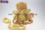 """11,8""""Adorável Yellow Plush Lion Crianças Backpack crianças não perdeu malas Bos-1238/30cm"""