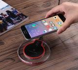 Caricatore senza fili di carico della stazione del bacino dell'adattatore del telefono mobile del rilievo del caricatore senza fili universale del Qi per il iPhone X 8 Samsung più S8