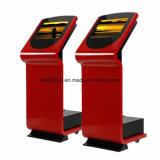"19 "" Indoor Touch Screen Interactive Kiosk Advertizing Machine"