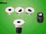 diodo emissor de luz Downlight da ESPIGA 14W com o módulo MR16