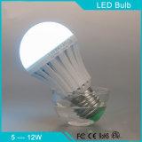 Ampoule rechargeable de vente chaude de secours d'éclairage LED