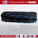 Deux fils hydraulique tressée flexible en caoutchouc