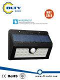 Indicatore luminoso esterno della parete solare del LED