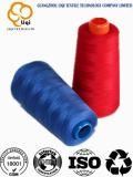 Hilo de coser 100% de la materia textil de alta resistencia del poliester para el uso que hace punto