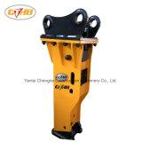 Largement utilisé de haute qualité à bas prix Type de boîte de machines de construction réduits au silence du marteau hydraulique