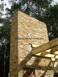 壁のための自然な建築材料のスレートのタイルのクラッディングの石