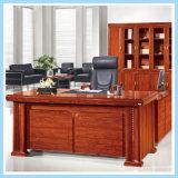 Mesa moderna da saliência do escritório executivo do MDF do projeto da mobília de escritório da forma