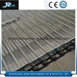 Материальный пояс ячеистой сети транспортера металла соединения глаза нержавеющей стали для замороженных продуктов