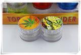 4 capas de 50mm mezcla de plástico adhesivo Bob Molinillo hierbas cigarrillos