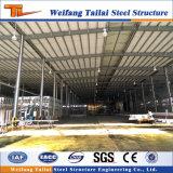Здание стальной структуры пакгауза мастерской Китая подгонянное высоким качеством полуфабрикат