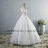 Abnehmer stellten Spitze formales Hochzeits-Kleid-Hochzeits-Kleid in der Spitze her