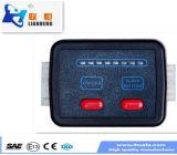Doos van de Schakelaar van de Leverancier van China de Gouden Waterdichte, Doos kzq-007-1 van de Schakelaar van het LEIDENE Lichte Controlemechanisme van de Staaf