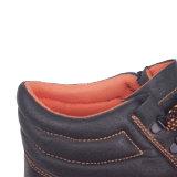 Zapatos de seguridad Wear-Resistant del MEDIADOS DE tobillo para los hombres