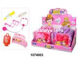 Produto de bebé Carro de ensino médico Conjunto de brinquedos de plástico (1074003)