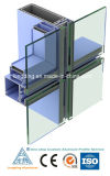 Het Aluminium van de Gordijngevel van de Deuren van vensters