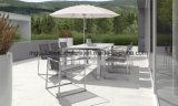 Chaises de jardin empilable avec cadres en acier inoxydable