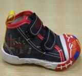 最新の美しい注入は蹄鉄を打つ赤ん坊のズック靴の幼児靴(FF516-1)に
