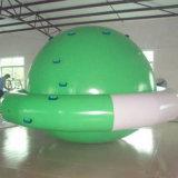 Hilandero inflable en verano