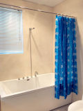 Duschvorhang der Fisch-PEVA für Badezimmer