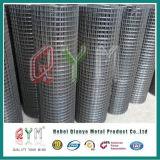 Rete metallica saldata ricoperta PVC galvanizzata della rete metallica del ferro