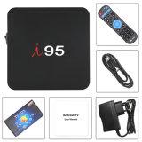 Spitzen-IPTV Kasten I einstellen 95 Ott androides Fernsehapparat-Kasten Amlogic S905W Chip 1GB RAM/8GB OS-intelligenter Fernsehapparat-Kasten ROM-7.1.2