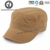 Hochwertiges beiläufige Art-Schwarzesblauer Brown-Militär bedeckt mit einer Kappe