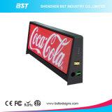 La mejor pantalla a todo color lateral doble al aire libre de la tapa LED del taxi del precio P5mm