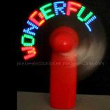2016 Text-Meldung-Ventilatoren des Sommer-Förderung-Geschenk-LED mit Firmenzeichen-Drucken (3509)