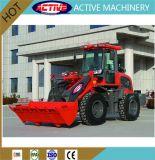 Горячий 1.5ton продажи сельскохозяйственных машин трактор колесный погрузчик с низкой цене